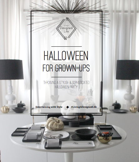 "Entertaining with Style: Halloween for Grown Ups ""Decor"""