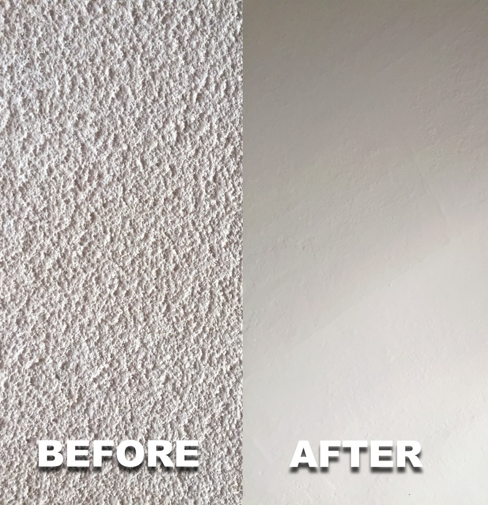 Before & After Ceiling