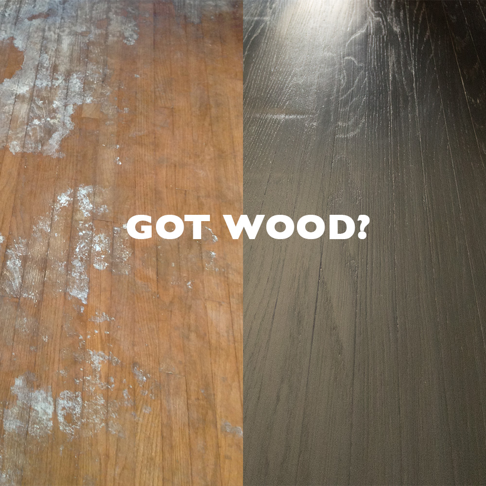 Yes, I bought a house that had wood floors that looked like that. Luckily, I knew I could repair them!