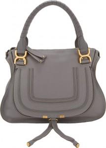 Chloe Grey Marcie Bag