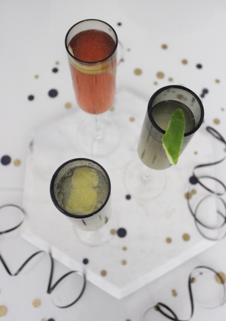 WITH A TWIST: Champagne Cocktails