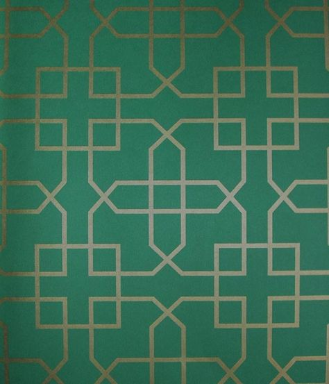 Siam Trellis Wallpaper | Image from: fabricsandpapers.com
