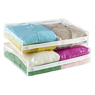 Container Store Peva Sweater Bags