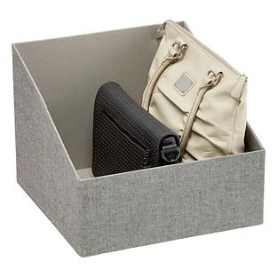 Container Store: Handbag Storage Bin