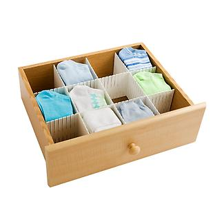 The Container Store: Interlocking Drawer Dividers