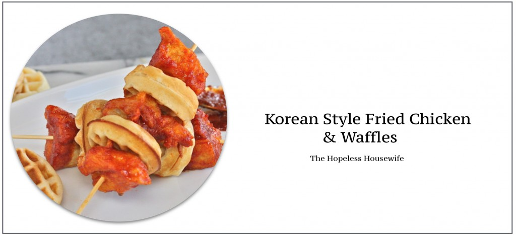 Korean Fried Chicken & Waffles