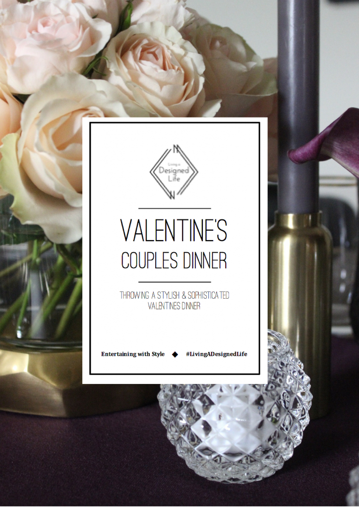 "Entertaining with Style: Valentine's Day Dinner ""Decor"""