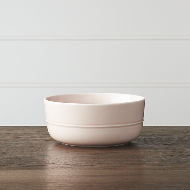 Crate & Barrel: Hue Blush Bowl