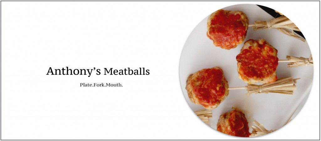 Anthony's Meatballs