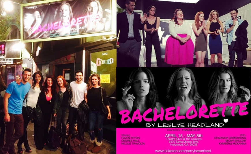 "Our Bachelorette ""Family"", Curtain Call, and our great marketing campaign."